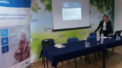 EEN: Odrzana prezentacija projekta privrednicima sa podrucja USK