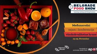 Poziv na online poslovne susrete u okviru sajma Belgrade Food Show 2020