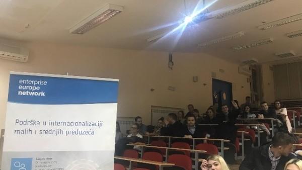 Održana prezentacija EEN mreže na Ekonomskom fakultetu Univerziteta u Sarajevu