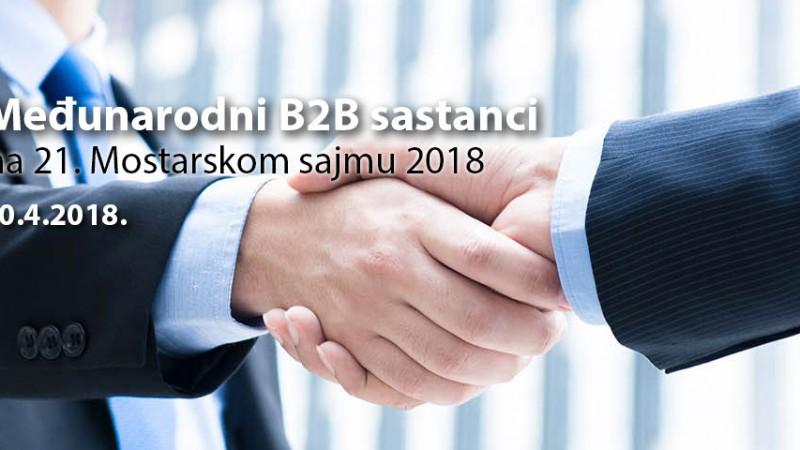 Međunarodni poslovni susreti na Mostarskom sajmu 2018