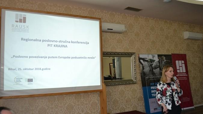 U sklopu konferencije PIT Krajina 2018, RA USK  održala prezentaciju o EEN