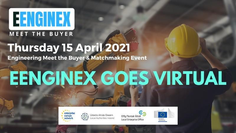 """Poziv za učešće na virtualnom događaju EENGINEX """"Upoznajte kupca"""""""