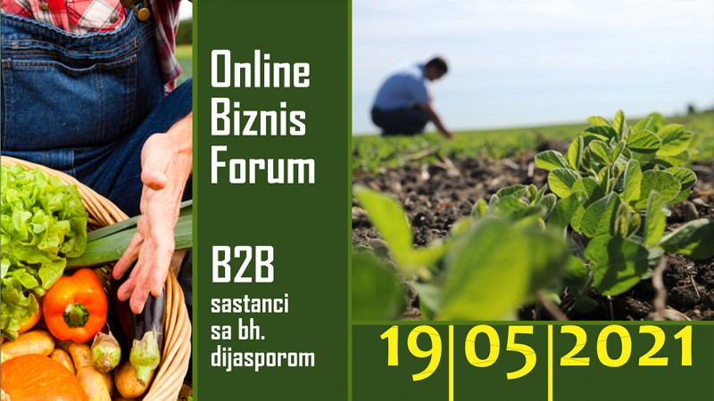 Online Biznis Forum i b2b sastanci sa bh.dijasporom, 19.05.2021.god.