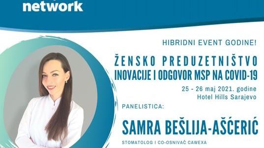 """U susret hibridnom događaju godine: """"Žensko preduzetništvo-inovacije i odgovori na COVID-19"""